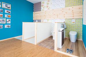 ぷらす1リフォーム名張店は、リフォームに特化したショールームとしては名張地区で最大級の設備点数を誇ります。
