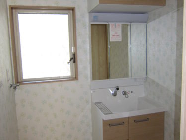 奈良県生駒市 洗面室リフォーム