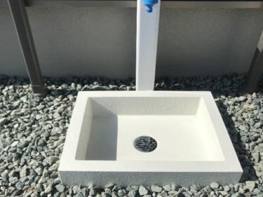 三重県名張市 立水栓パン取付