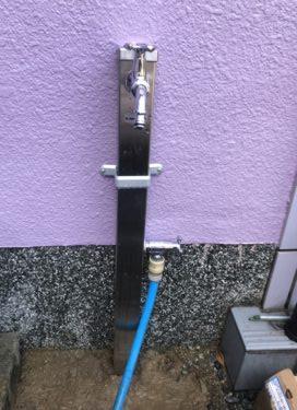 水栓取付工事