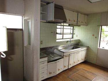 名張市キッチン工事